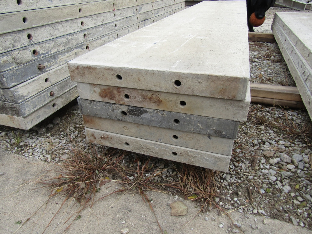 """(15) 18"""" x 8' Durand Concrete Forms, Smooth 6-12 Hole Pattern, Attached Hardware, Located in Mt. - Image 4 of 4"""