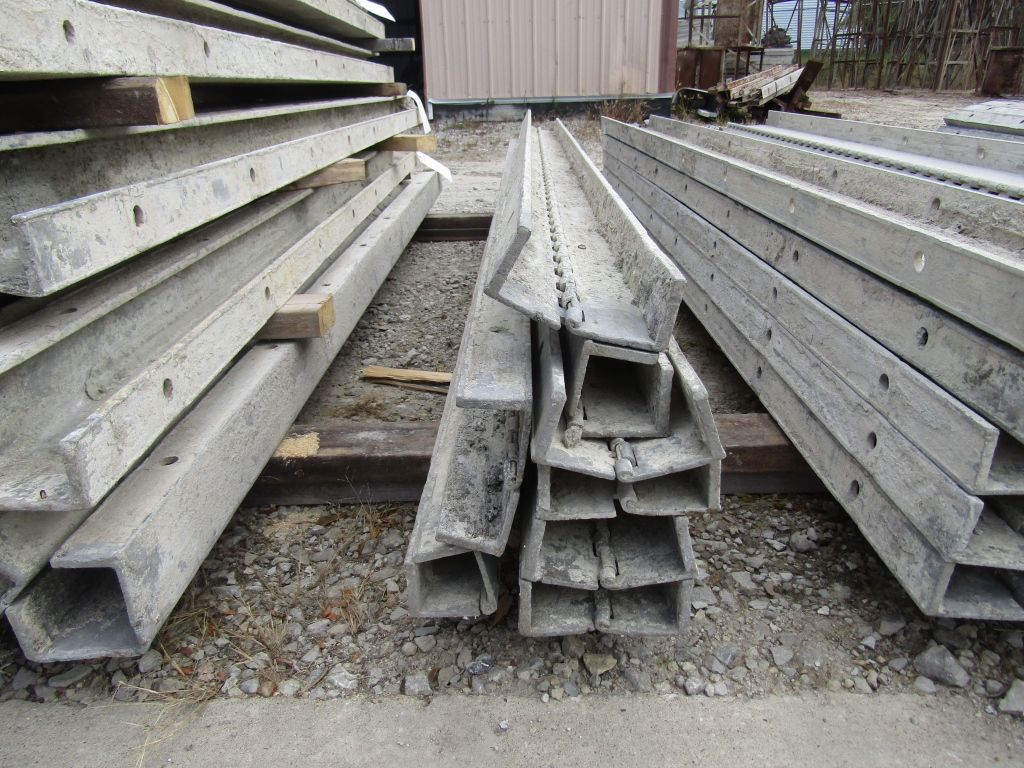 """(7) 2 1/2"""" x 8' Durand Concrete Forms Hinged, Smooth 6-12 Hole Pattern, Located in Mt. Pleasant, IA - Image 2 of 2"""