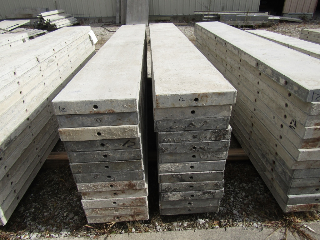 """(24) 12"""" x 8' Durand Concrete Forms, Smooth 6-12 Hole Pattern , Located in Mt. Pleasant, IA - Image 2 of 2"""