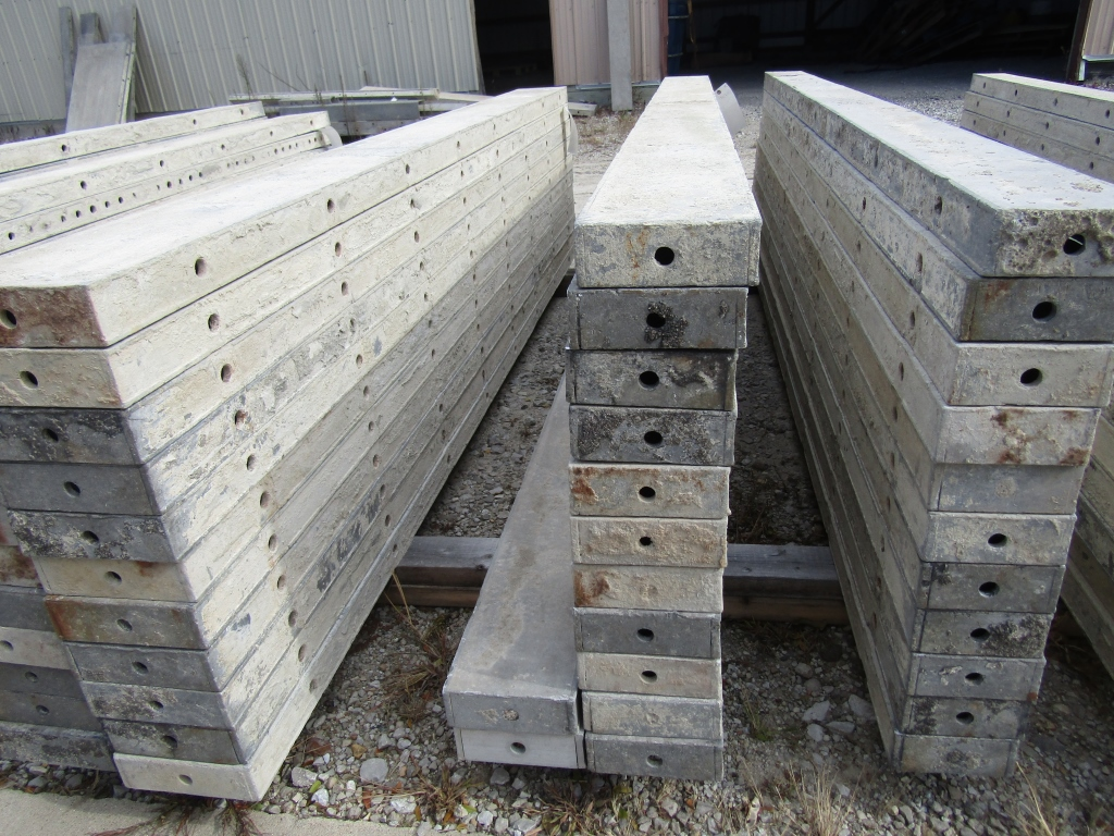 """(13) 6"""" x 8' Durand Concrete Forms, Smooth 6-12 Hole Pattern , Located in Mt. Pleasant, IA - Image 2 of 2"""