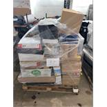 1 x Pallet of Mixed Stock/Stationery Including Jiffy Bags, Dymo Label Printer, Presentation
