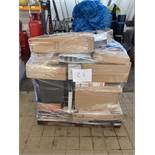 1 x Pallet of Mixed Stock/Stationery Including Cash Boxes, Lever Arch Files, Envelopes, Privacy