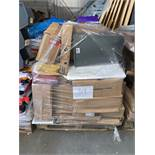 1 x Pallet of Mixed Stock/Stationery Including Postal Tubes, Archive Boxes, Lever Arch Files,