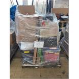 1 x Pallet of Mixed Stock/Stationery Including Mailing Bags, Dymo Label Printer, Lever Arch Files,