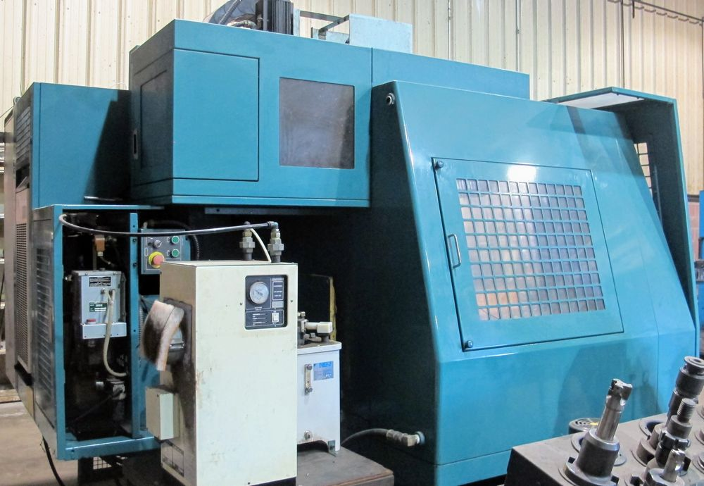 "Lot 36 - MATSUURA MC-1000VF CNC Vertical Machining Center, 20"" x 44"" Table, Matsuura EN4-1400A CNC"