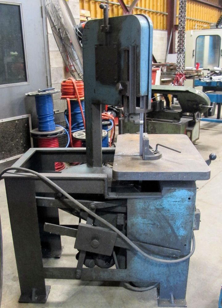 Lot 2 - ROUBAX VERTICUT 115-A Roll-in Saw, s/n 486
