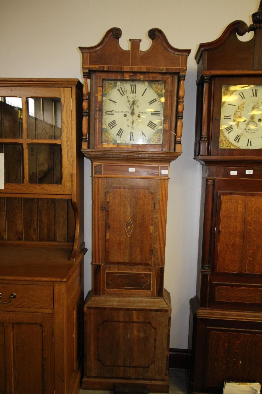 Lot 59 - Thomas Milner, Wigan - Oak Long Case Clock 8 Day