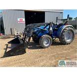 FARMTRAC DT360 4-SPEED DIESEL POWERED TRACTOR WITH FRONT LOADER, 2,500+ HOURS, 4WD, SSL, QUICK