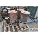 100,000 BTU SCHEU MODEL UNIVERSAL 100-RANG NATURAL GAS HEATERS