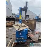ATLAS MODEL TC211 ELECTRIC / PNEUMATIC WHEEL CLAMP TIRE CHANGER; S/N 7970811008876