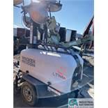 WACKER NEUSON MODEL LTN6 MOUNTED DIESEL POWERED 4-LIGHT LIGHT TOWER; S/N 5XFLN0515EN004583, KOHLEE