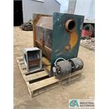HOT BLAST WOOD FUEL FIRED FURNACE WITH (2) BLOWER MOTOR S