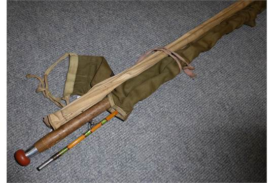 Hardy bamboo fly rod