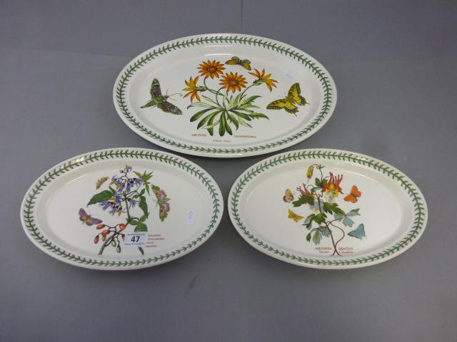 Lot 47 - Three Portmeirion platters