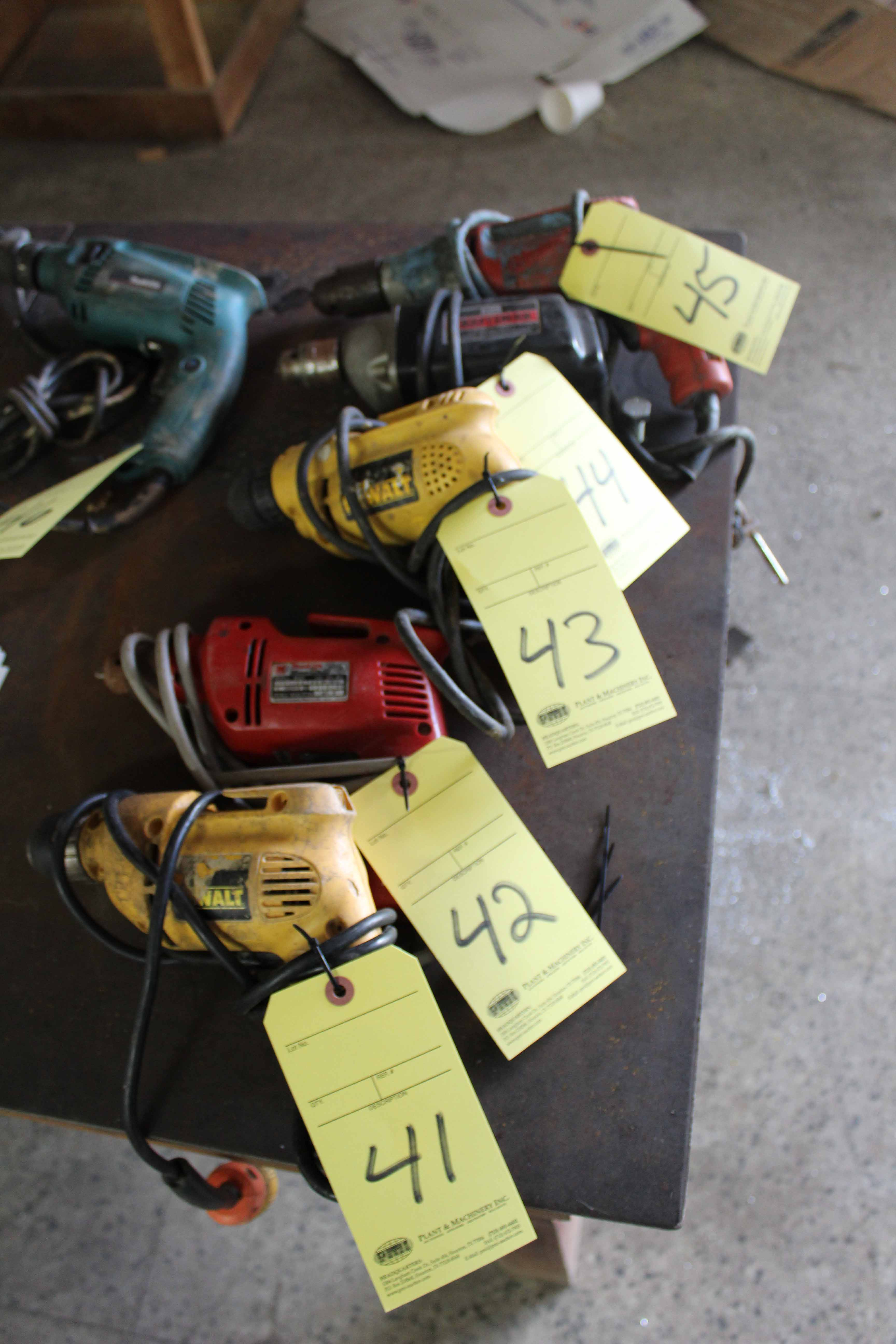 Lot 42 - ELECTRIC HAND DRILL, MILWAUKEE