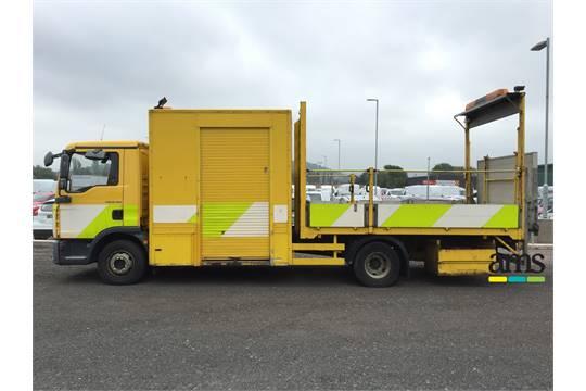 2007, Man TGL 12 184 Traffic Management Vehicle, Reg No