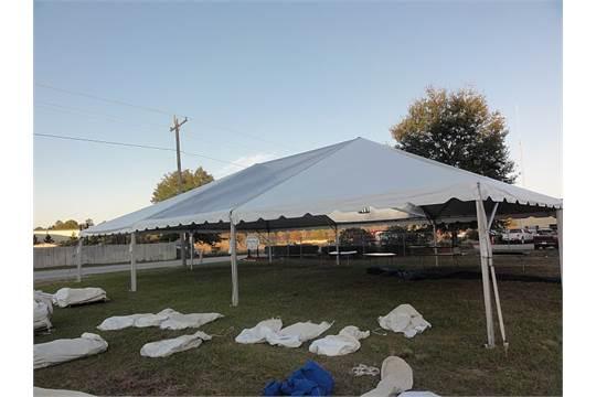 40 x 80 Top Tec Future Track Tent- Complete Grade A 8 Adjustable Poles & 40 x 80 Top Tec Future Track Tent- Complete Grade A 8 Adjustable ...