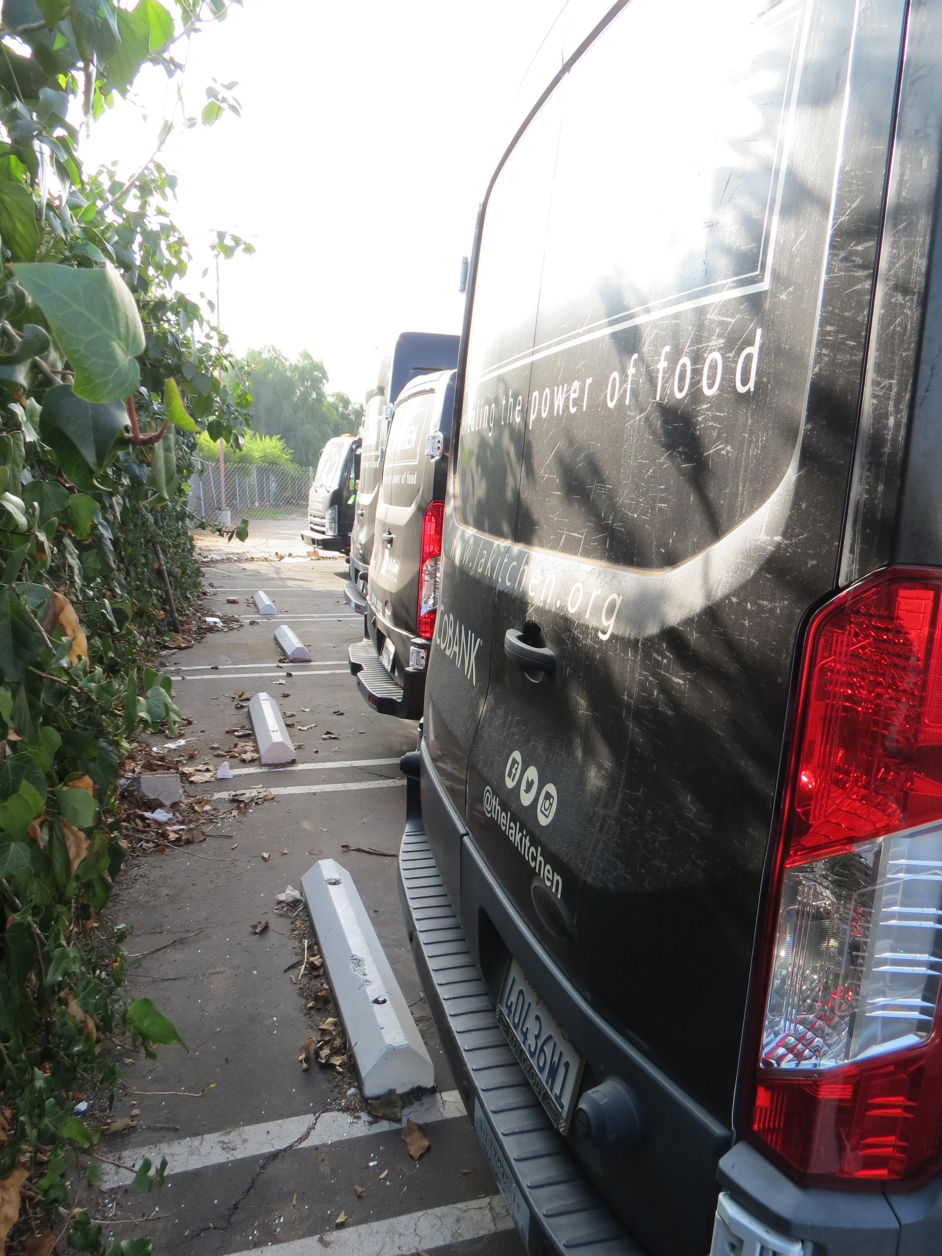 Lot 2 - 2015, FORD TRANSIT 250 REFRIGERATED VAN, HIGH ROOF, SLIDING DOOR, CUSTOM WRAP, 14,223 MILES, VIN: