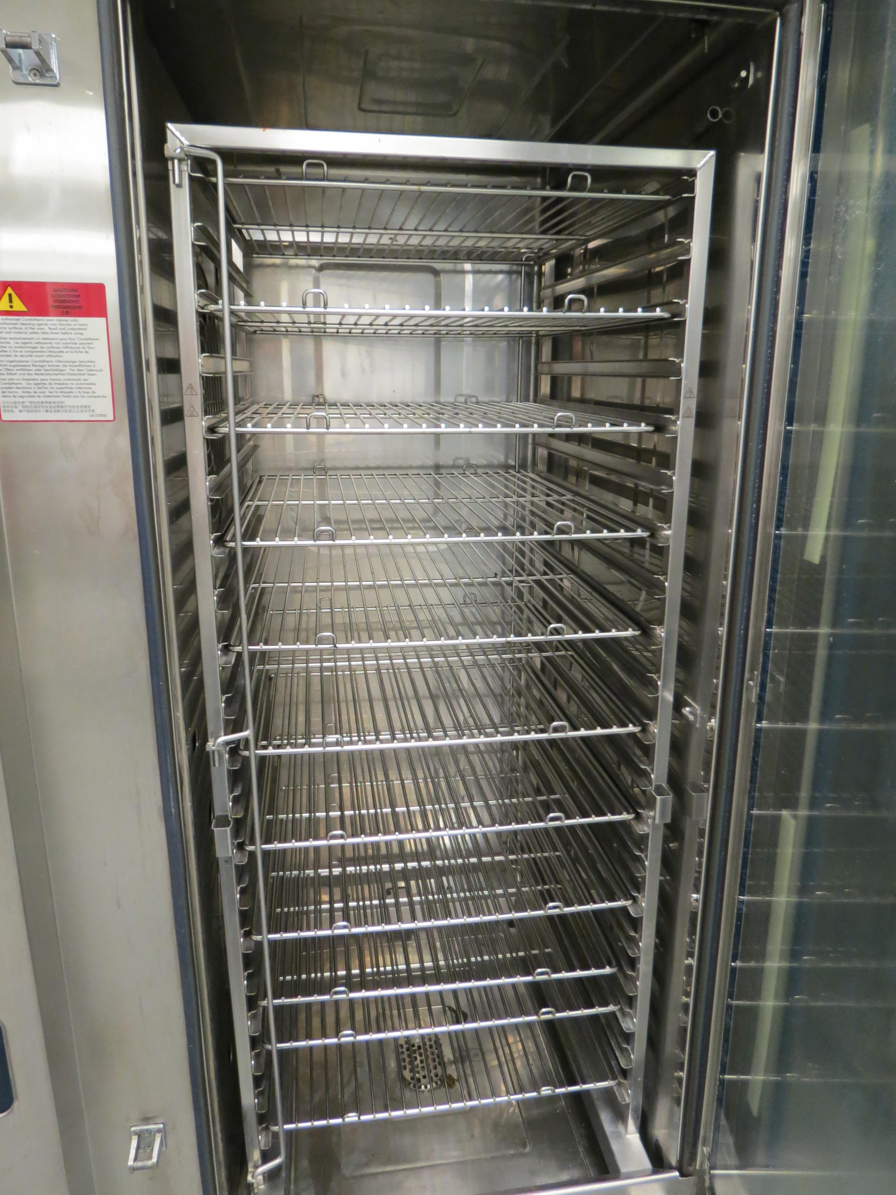 Lot 5 - ALTO-SHAAM MDL. CTP20-20G COMBI OVEN, SN: 1599150-000, W/ ROLLING RACK