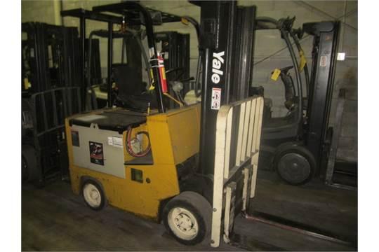 Yale Forklift Model #: ERC050JAN36SF083