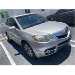 2011 ACURA RDX TURBO FWD - VIN #5J8TB2H20BA003455 - SILVER - LEATHER - 99,614 MILES (HOLLYWOOD FL)
