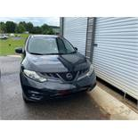 2012 NISSAN MURANO - BLACK - BLACK LEATHER - 77,144 MILES ON ODOMETER - (LOCATED IN INMAN SC)