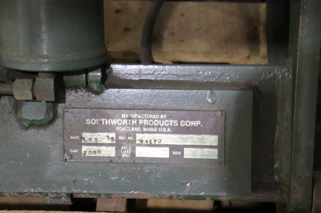 Southworth products LS2-36 2000lbs Back Saver Lift - Image 3 of 3