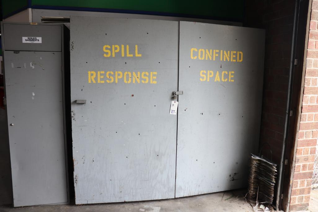 SCBA spill response & Confined Space equipment