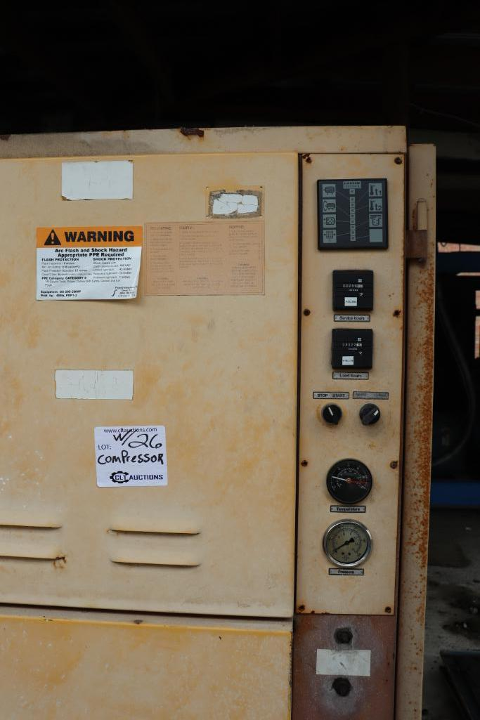 Quincy QSI1500 & Kaeser rotary screw compressors w/ dryer and tank - Image 9 of 28