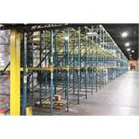 Structural drive-in pallet rack (large quantity)