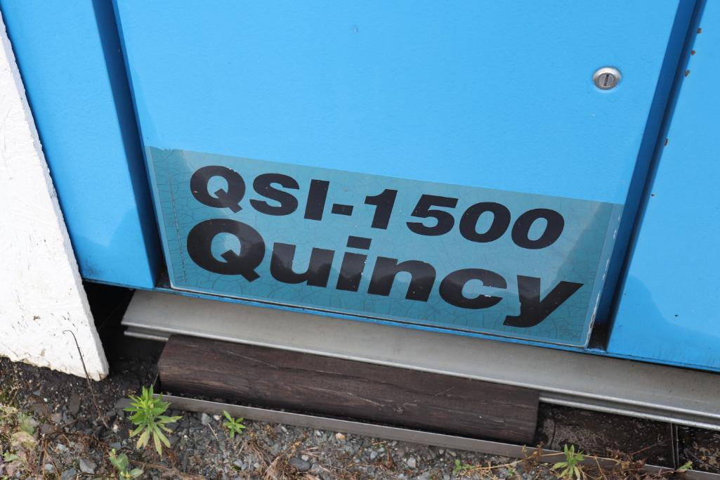 Quincy QSI1500 & Kaeser rotary screw compressors w/ dryer and tank - Image 18 of 28