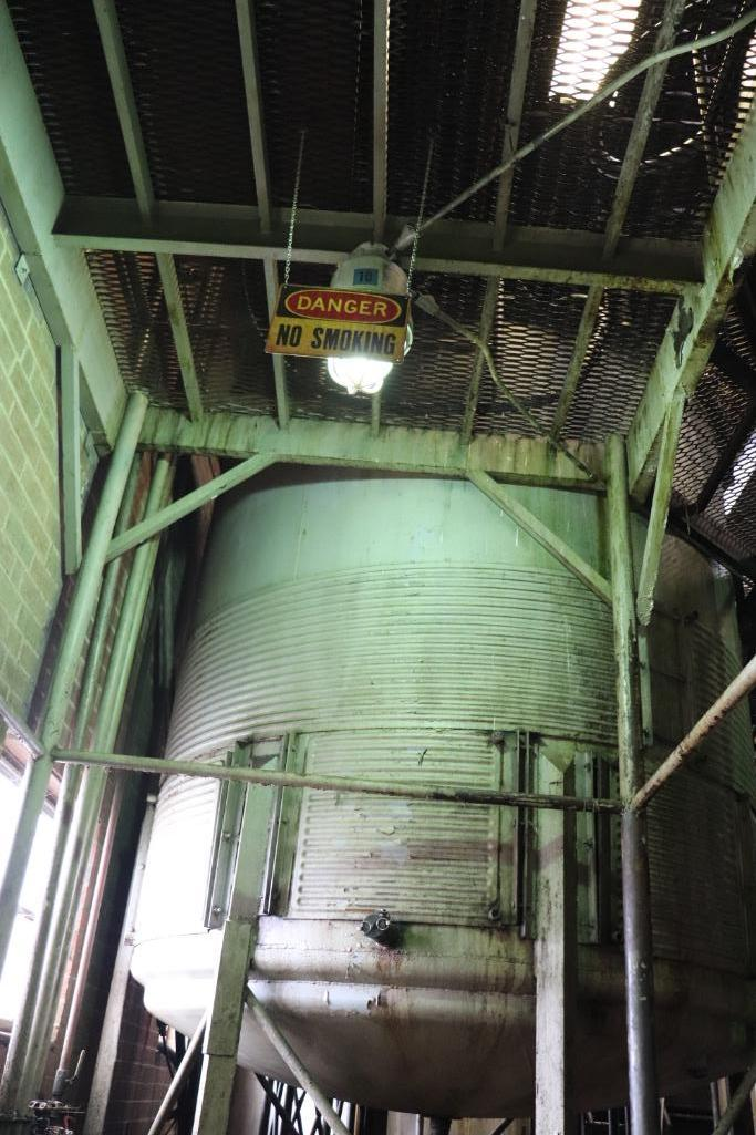 Stainless steel & steel mixing tanks, Contents of room - Image 6 of 13
