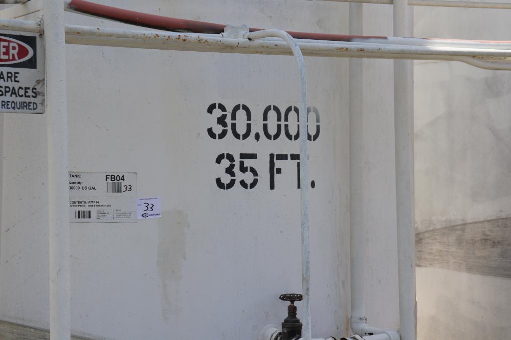 Tank farm section 15k - 30k gallon vertical tanks - Image 7 of 19