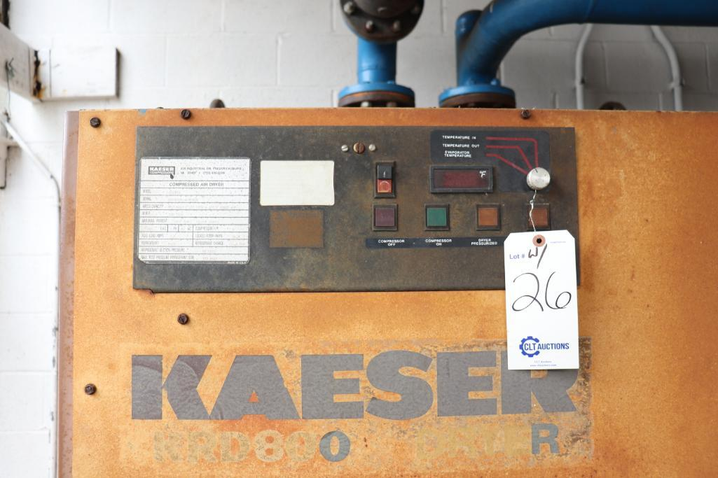 Quincy QSI1500 & Kaeser rotary screw compressors w/ dryer and tank - Image 13 of 28