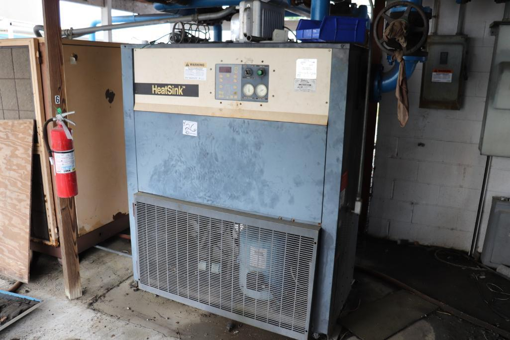 Quincy QSI1500 & Kaeser rotary screw compressors w/ dryer and tank - Image 6 of 28