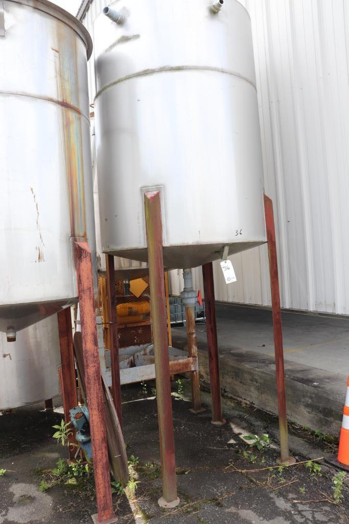 Stainless steel tanks - Image 2 of 4