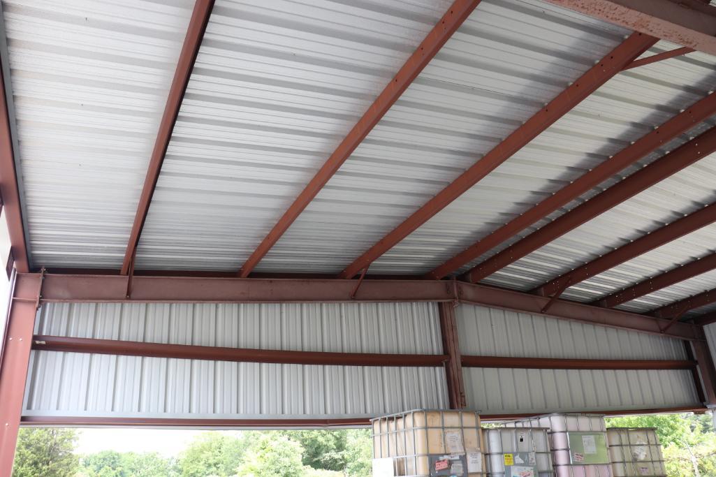 "Steel building 38' 8""w x 40'd - Image 4 of 9"