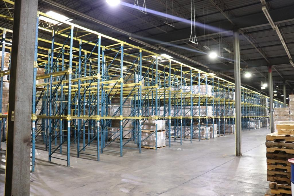Structural drive-in pallet rack (large quantity) - Image 3 of 7