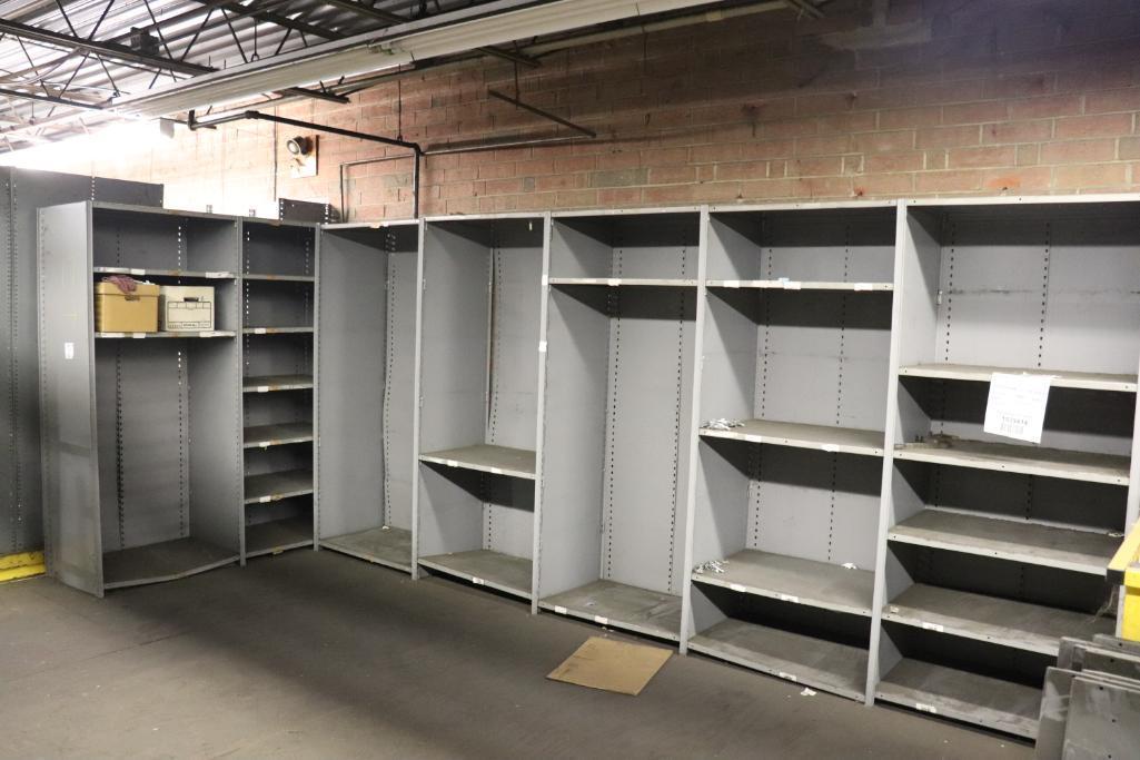 Parts shelving units - Image 2 of 9