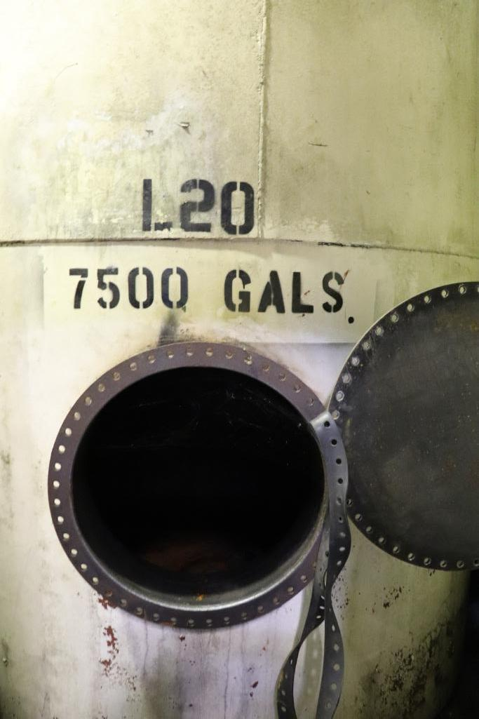 Steel 7500 gallon tanks - Image 2 of 7