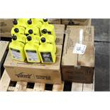Cases of hydraulic jack oil
