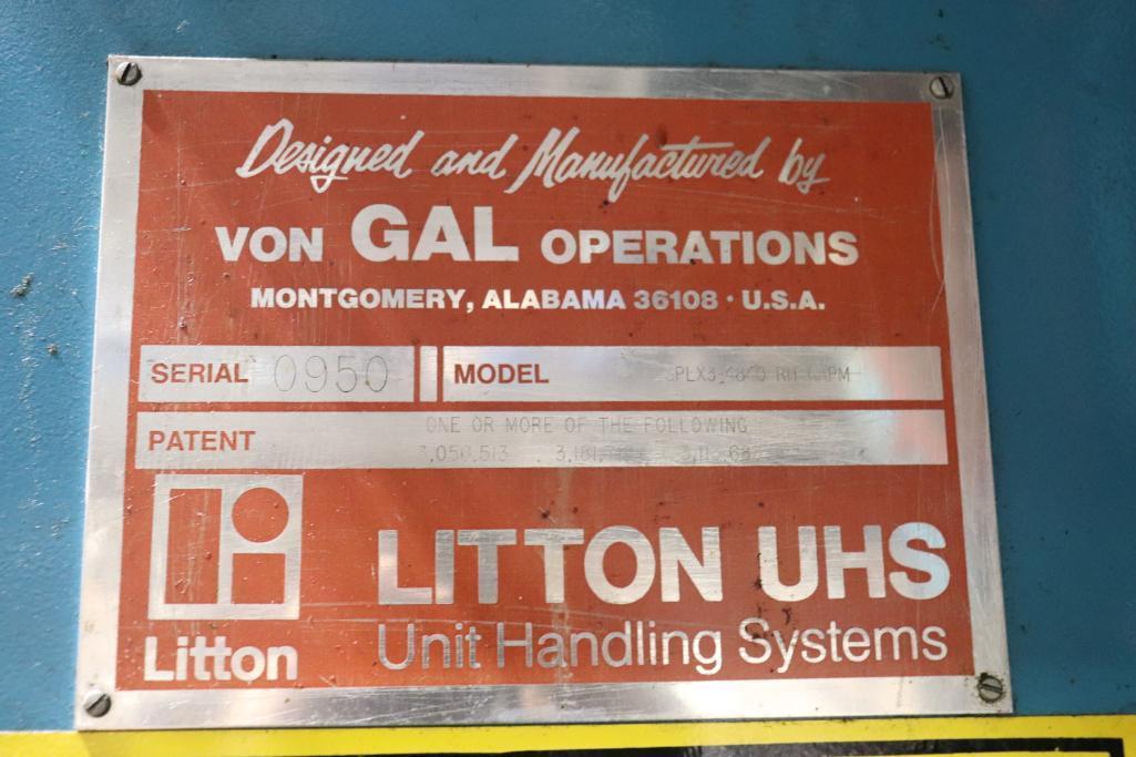 Litton Von GAL palletizer & Conveyor - Image 10 of 18