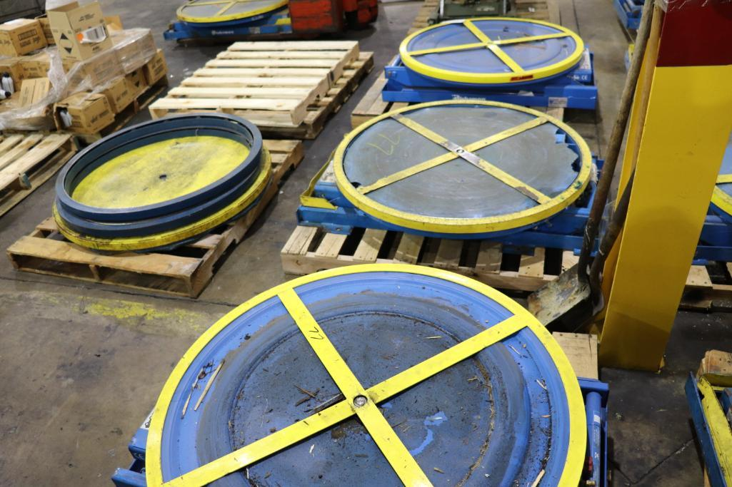 Pallet positioners