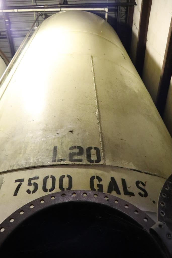 Steel 7500 gallon tanks - Image 3 of 7