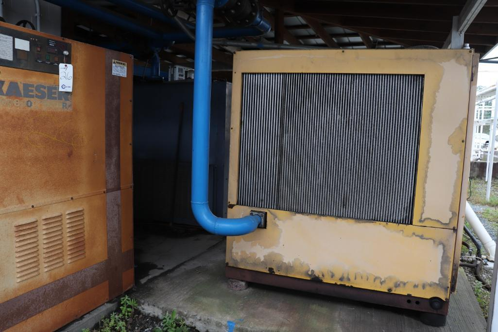 Quincy QSI1500 & Kaeser rotary screw compressors w/ dryer and tank - Image 11 of 28