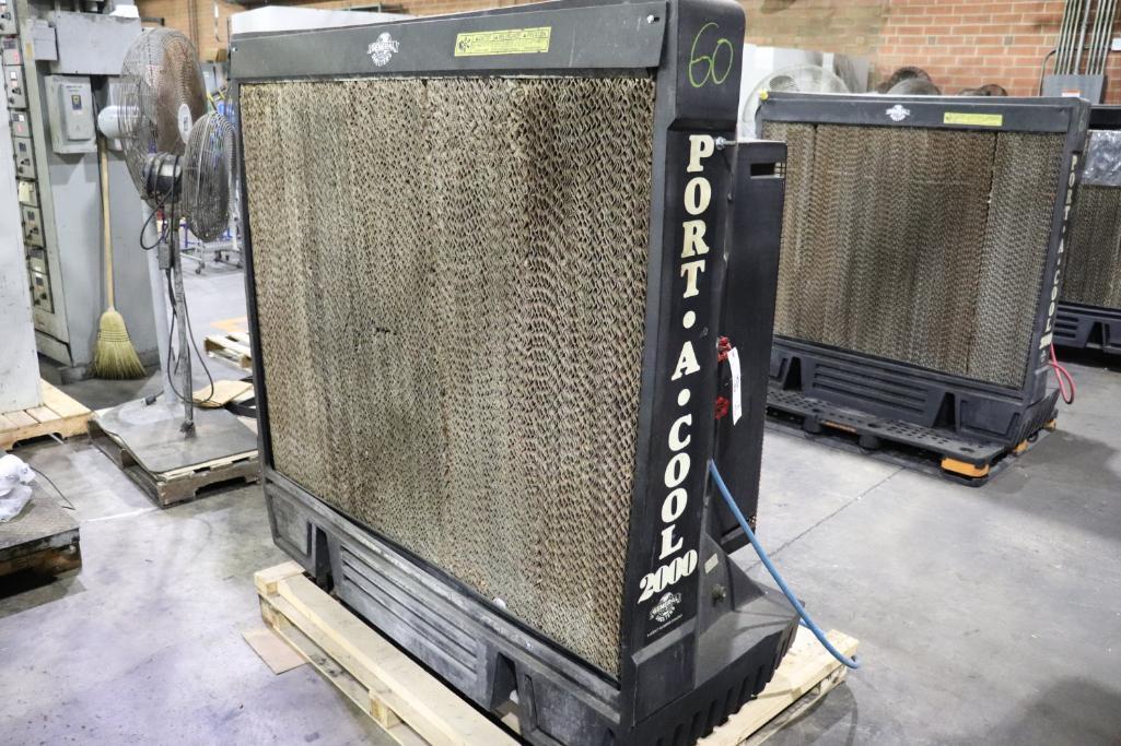 Port A Cool 2000 evaporative air cooler