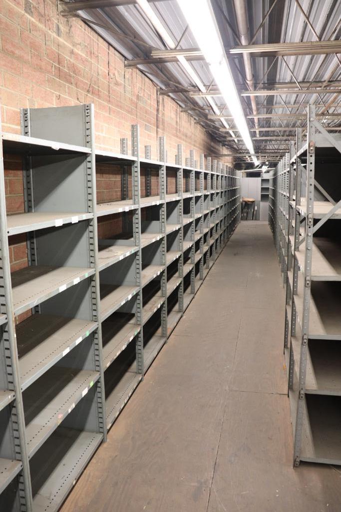 Parts shelving units - Image 2 of 7