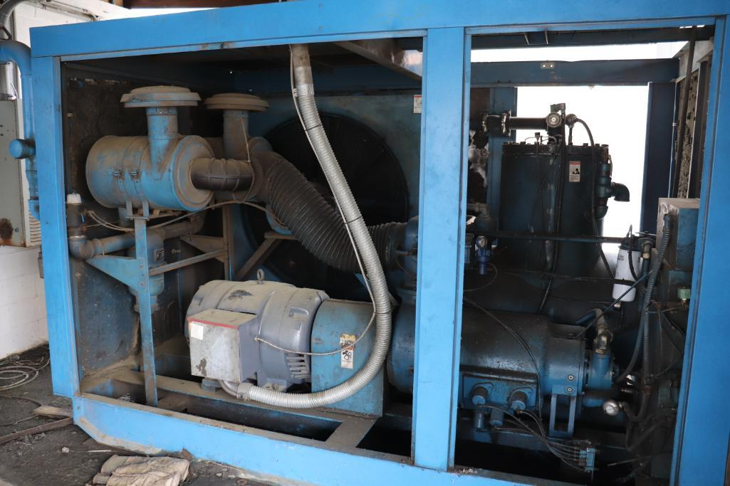Quincy QSI1500 & Kaeser rotary screw compressors w/ dryer and tank - Image 3 of 28