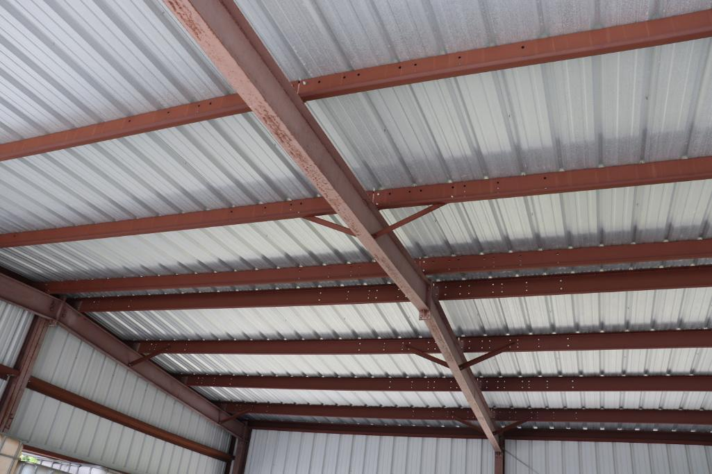 "Steel building 38' 8""w x 40'd - Image 5 of 9"