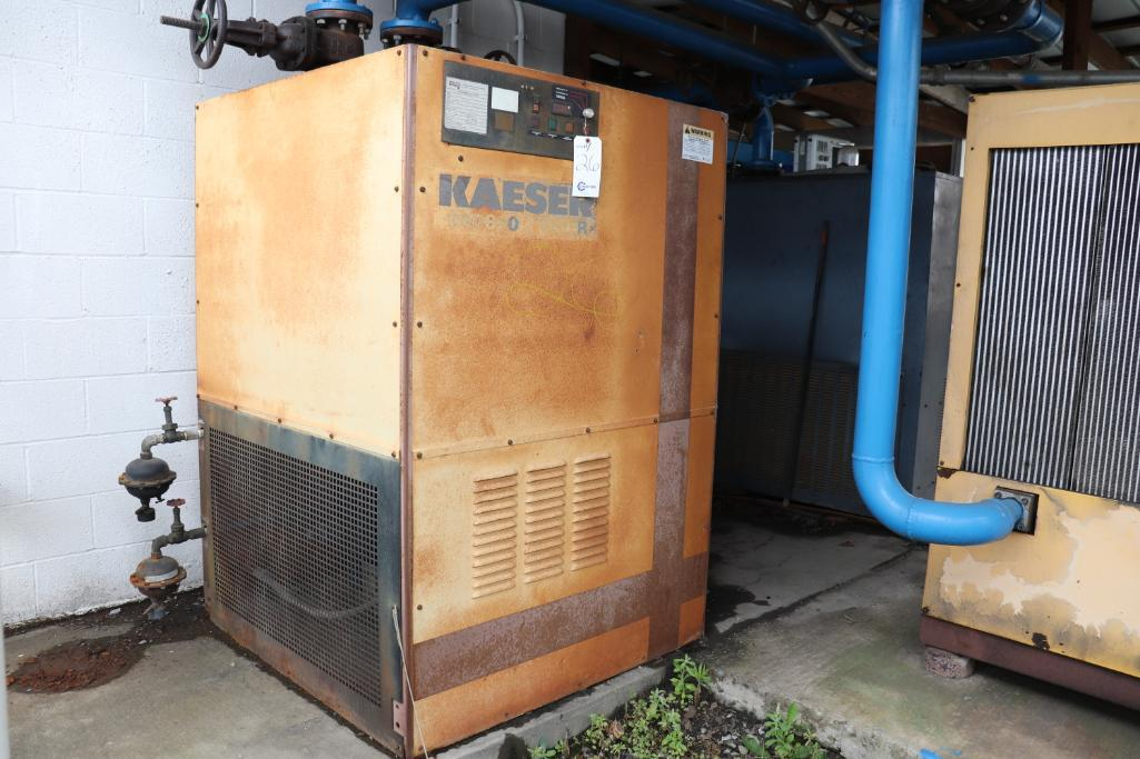Quincy QSI1500 & Kaeser rotary screw compressors w/ dryer and tank - Image 12 of 28